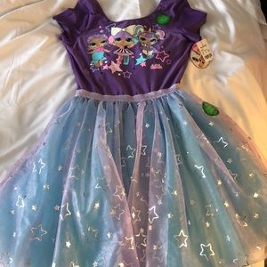 Other - Lol Surprise dress glow in the dark Size 14-16